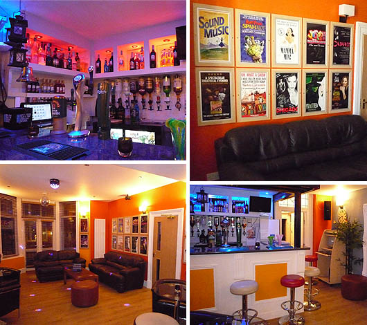 Bar and Lounge at Chaps Hotel Blackpool
